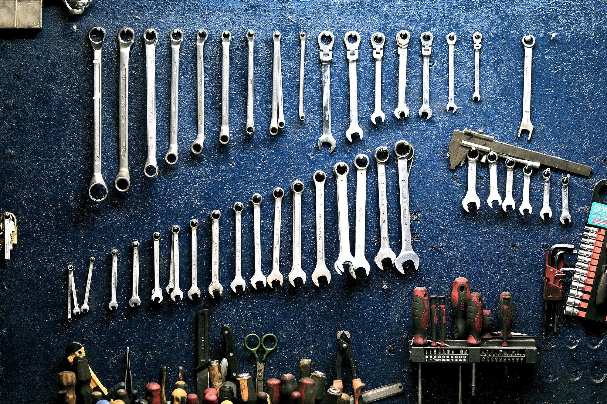 set of tool wrench 162553 - 2 Rad Tesar